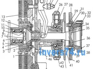 Муфта сцепления Т-170, Б-170 18-14-4СП